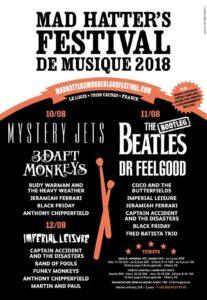 Music festival near bordeaux