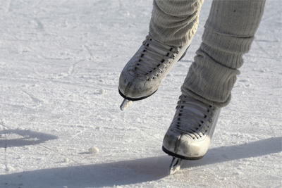 Ice Skating in Gironde France