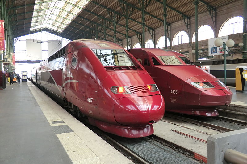 Bordeaux to Brussels by Train