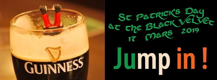 Saint Patrick's in Bordeaux -Black Velvet Bar