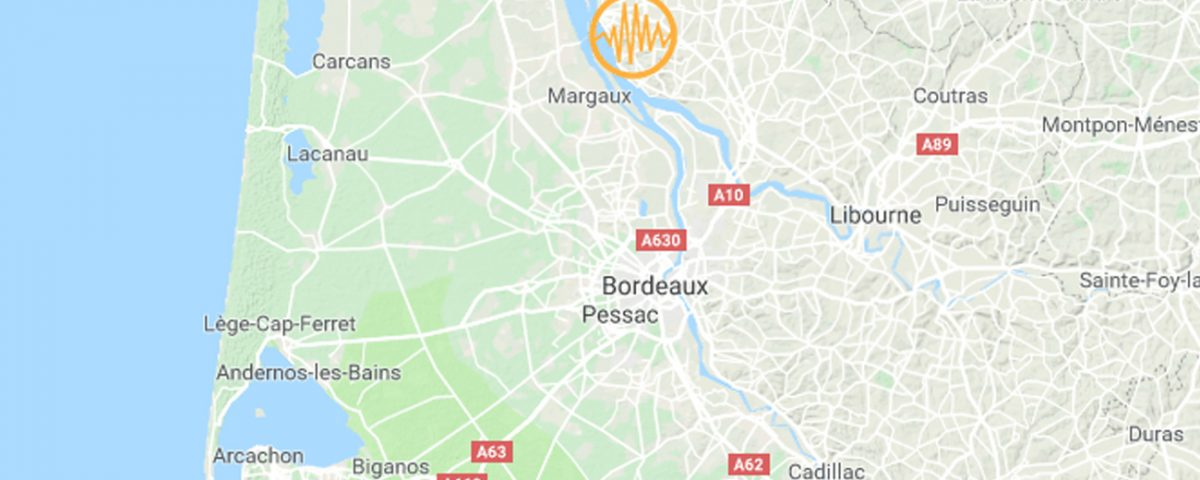 Bordeaux Earthquake 2019