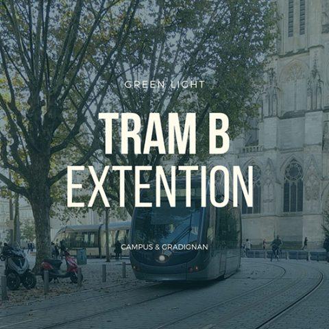 Bordeaux Tram B Line Extention