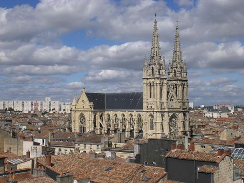 Church Saint-Louis in the Chartrons Bordeaux